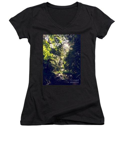 Slight Tremble Women's V-Neck T-Shirt