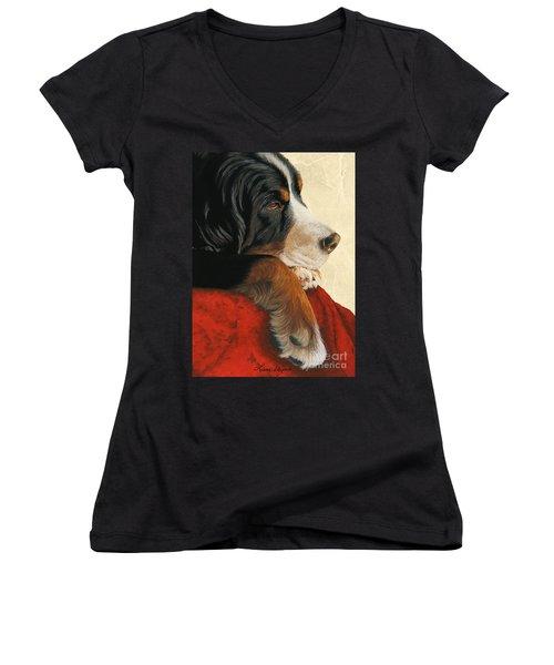 Slumber Women's V-Neck T-Shirt