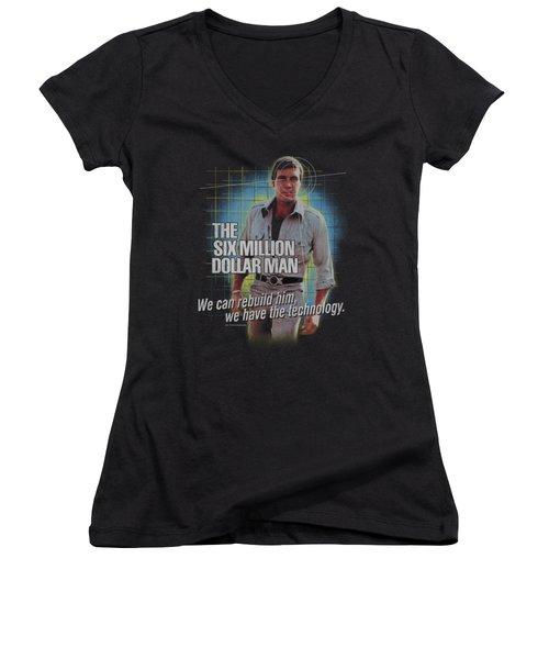 Smdm - Technology Women's V-Neck T-Shirt (Junior Cut) by Brand A