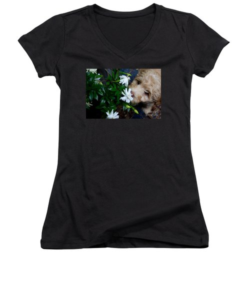 Smells So Good Women's V-Neck T-Shirt