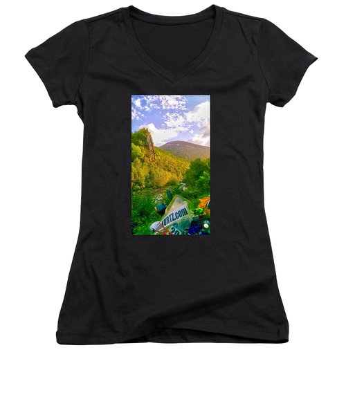 Smoke Hole Canyon Women's V-Neck