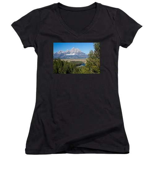 Snake River Overlook Women's V-Neck