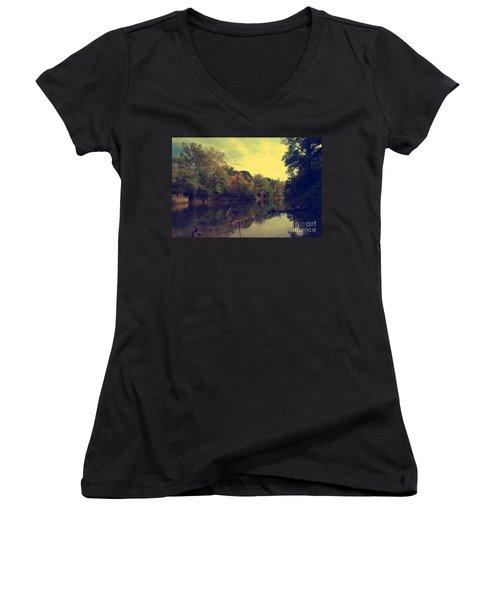 Solemnity Women's V-Neck T-Shirt