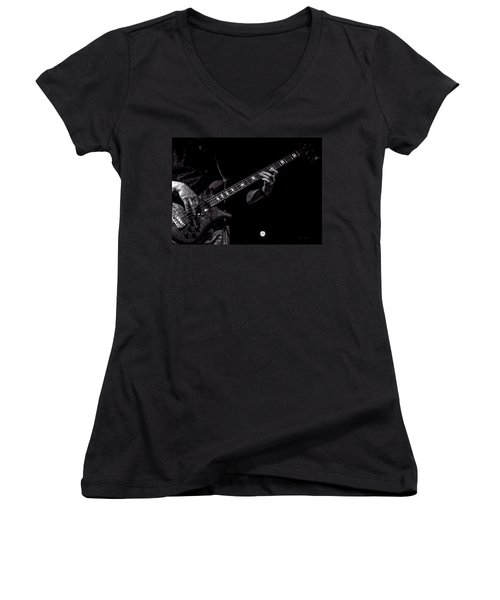 Sounds In The Night Bass Man Women's V-Neck