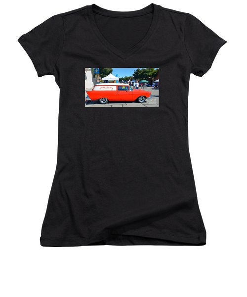 Special Delivery Women's V-Neck T-Shirt