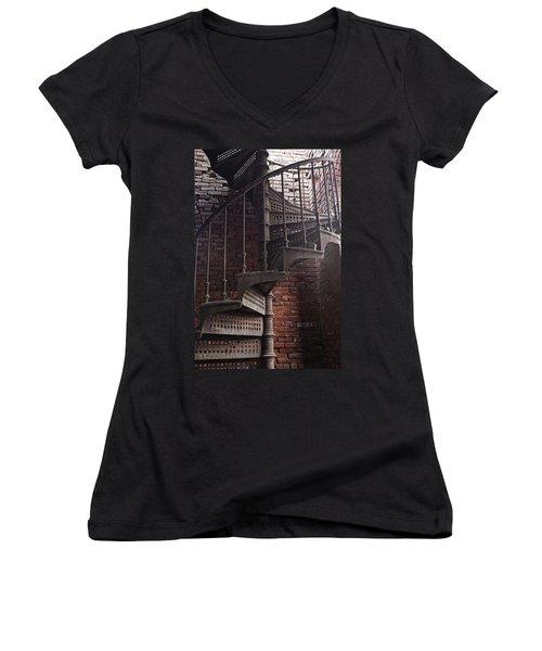 Spiral Staircase Depot Women's V-Neck