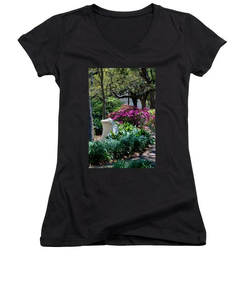 Spring Solitude Women's V-Neck (Athletic Fit)