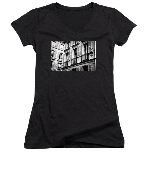 St Germain Des Pres Women's V-Neck T-Shirt