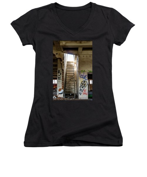 Stairway To Heaven? I Don't Think So... Women's V-Neck