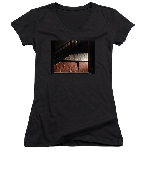 Stairwell Women's V-Neck (Athletic Fit)