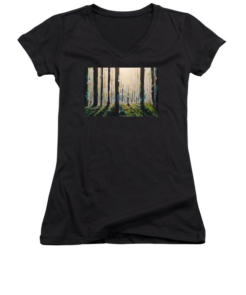 Into The Woods Women's V-Neck (Athletic Fit)