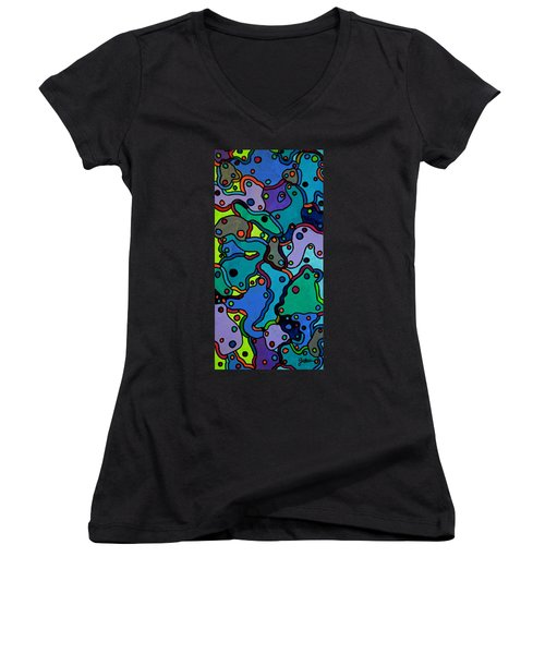 Stay The Course Women's V-Neck T-Shirt