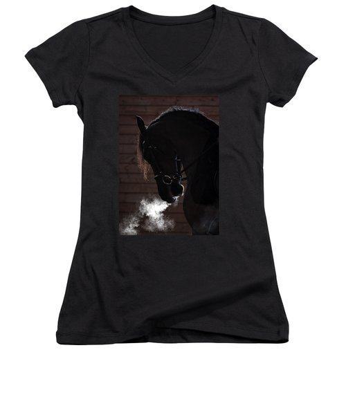 Steam Engine Women's V-Neck