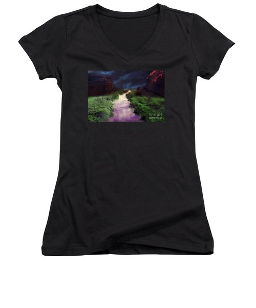 Steamy Creek Women's V-Neck