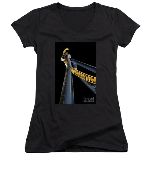Steel Venom Women's V-Neck