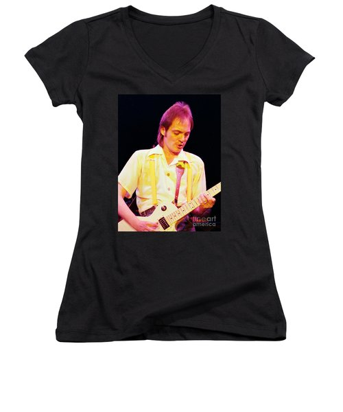 Steve Marriott - Humble Pie At The Cow Palace S F 5-16-80  Women's V-Neck (Athletic Fit)