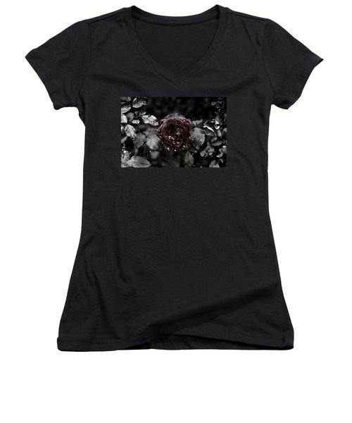 ...still A Rose Women's V-Neck