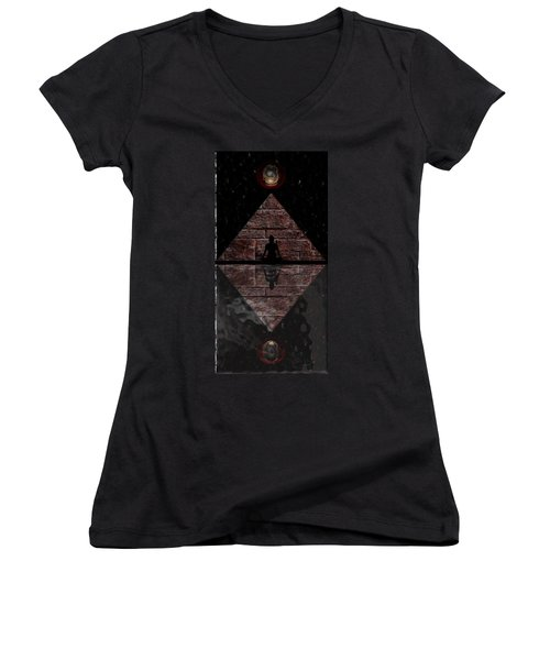 Stillness Women's V-Neck T-Shirt