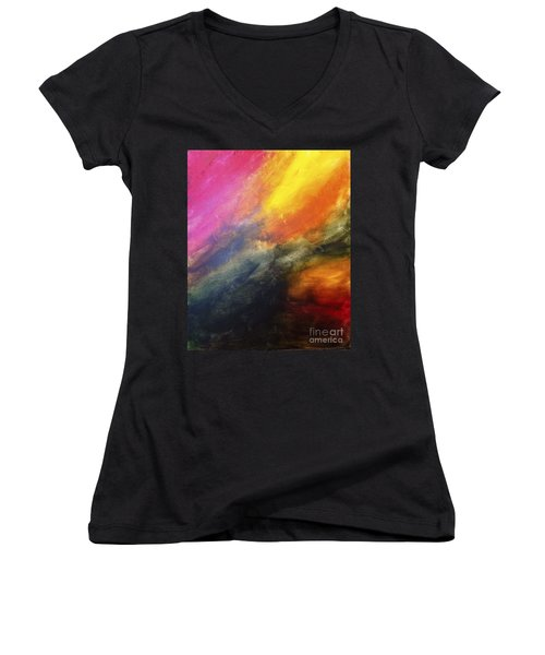 Stormy Weather Women's V-Neck T-Shirt