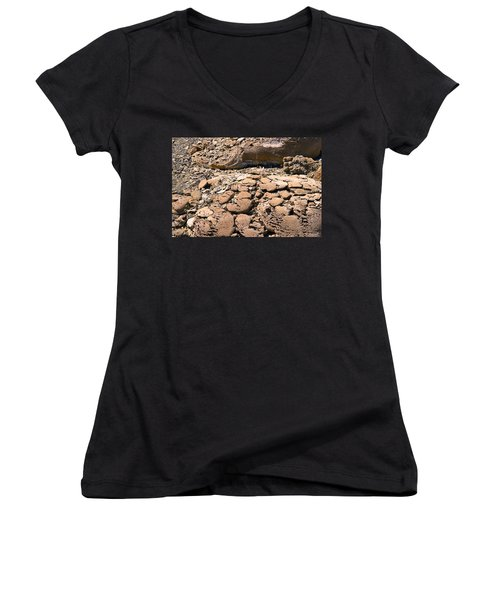Strange Rock Women's V-Neck (Athletic Fit)