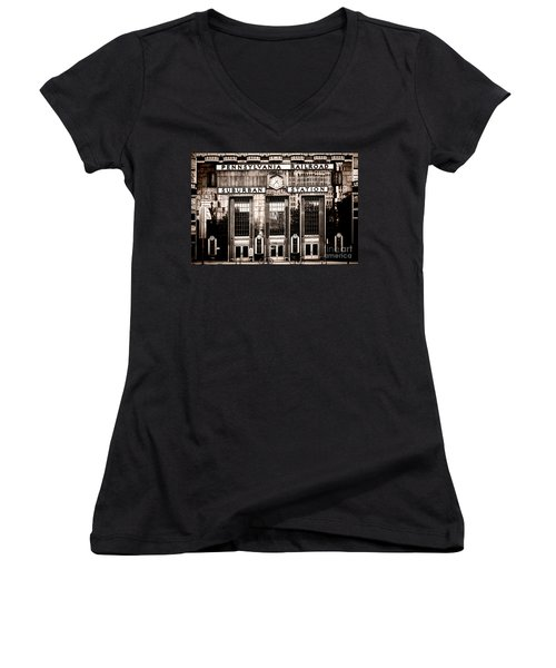 Suburban Station Women's V-Neck