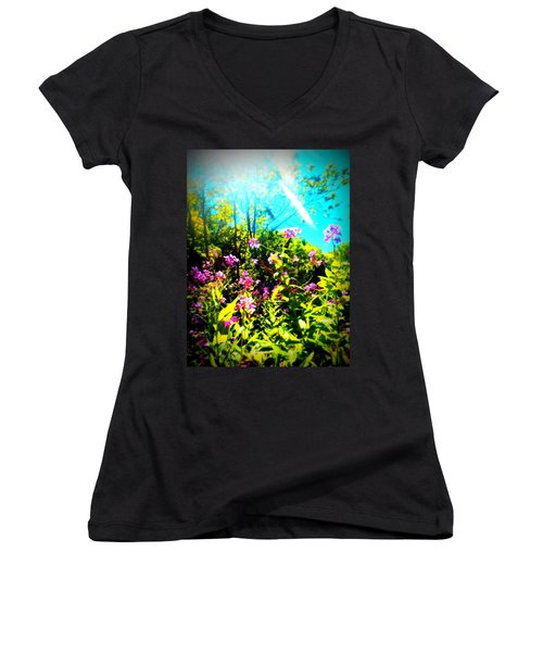 Summer Beauty Women's V-Neck (Athletic Fit)