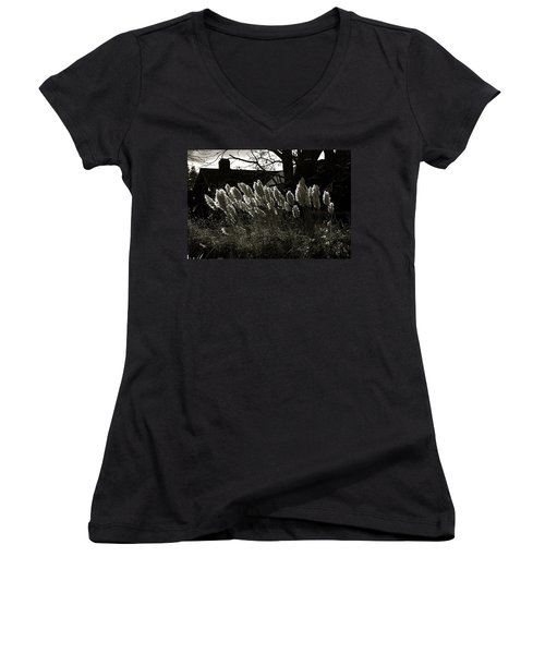 Sun And Shadow Women's V-Neck T-Shirt
