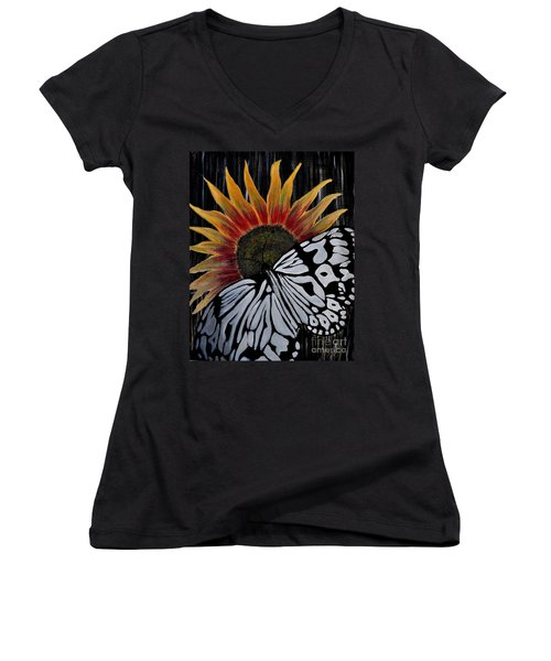 Sun-fly Women's V-Neck