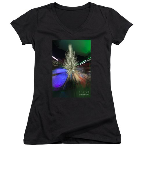 Sundance Sparkle Women's V-Neck T-Shirt