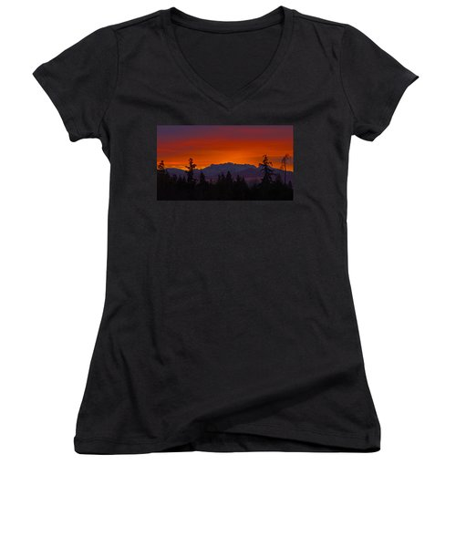 Sundown Women's V-Neck