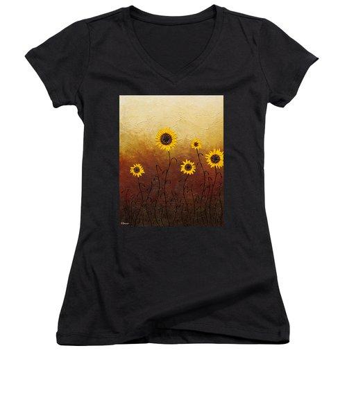 Sunflowers 1 Women's V-Neck