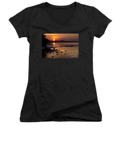Sunrise Photograph Women's V-Neck