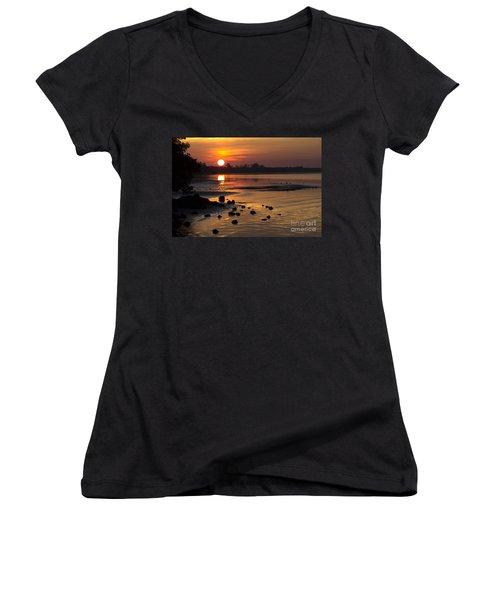 Sunrise Photograph Women's V-Neck