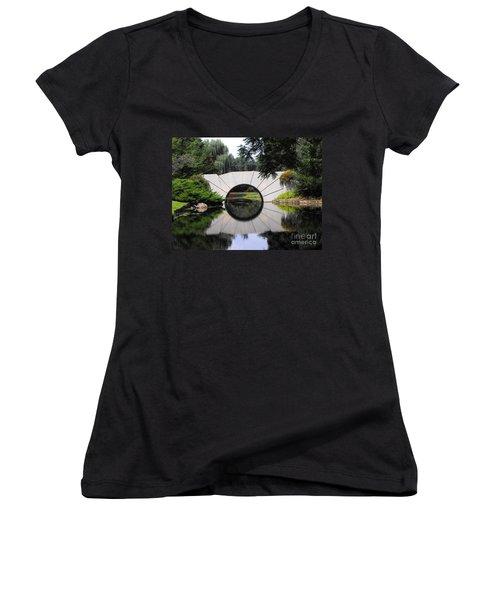 Sunshine Bridge Women's V-Neck T-Shirt