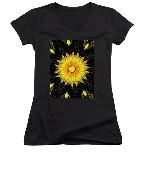 Sunshine Lily Women's V-Neck