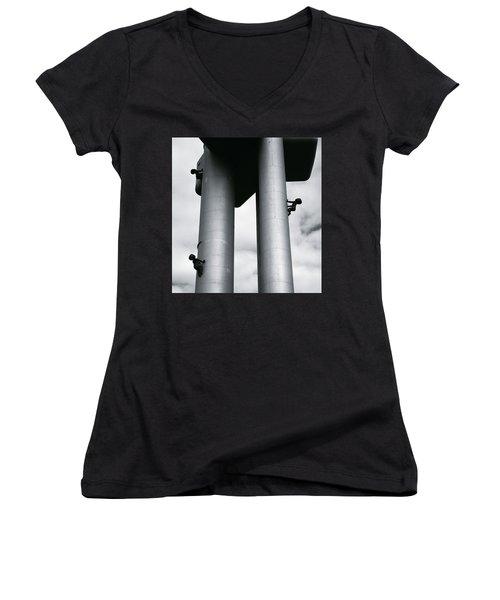 Surrealist Art Women's V-Neck T-Shirt