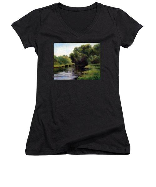 Swan Creek Women's V-Neck T-Shirt