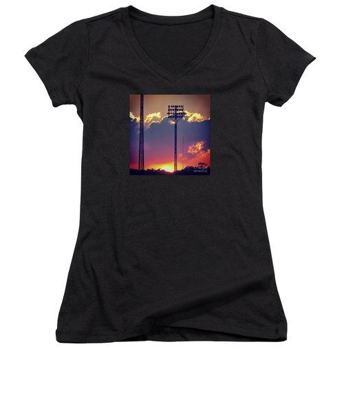 Switching Shifts Women's V-Neck (Athletic Fit)