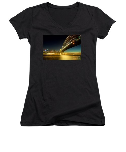 Sydney Harbour Bridge Women's V-Neck