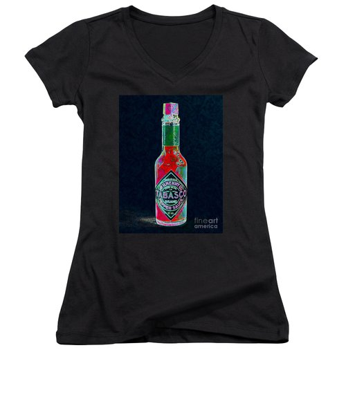 Tabasco Sauce 20130402 Women's V-Neck