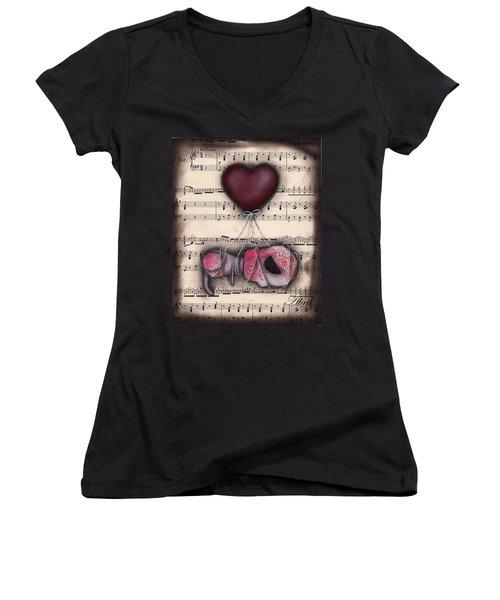 Take Me Away- Driftin  Women's V-Neck T-Shirt