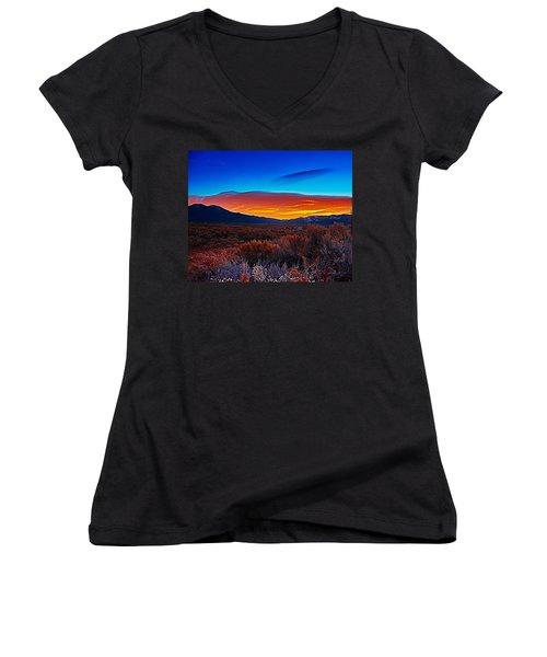 Taos Sunrise X Women's V-Neck