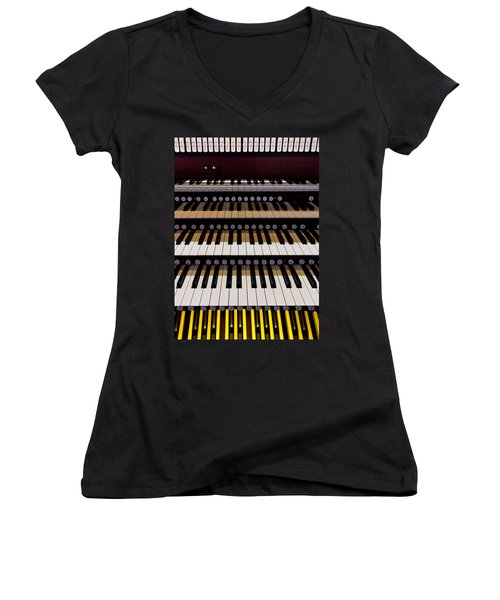 Teeth Of An Instrument Women's V-Neck