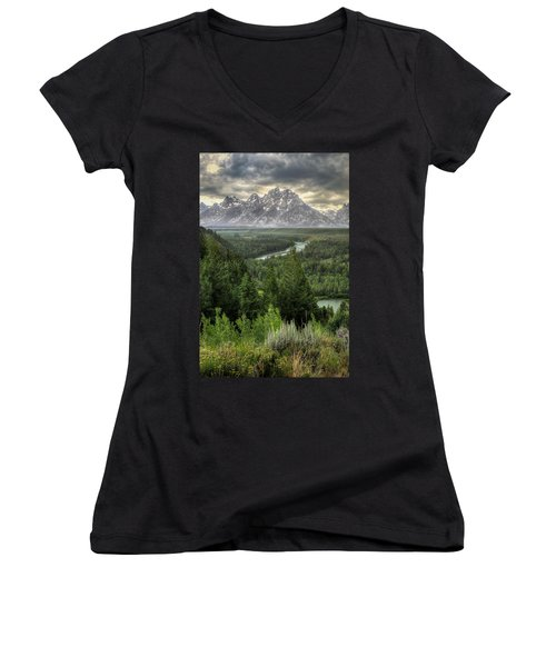 Teton Visions Women's V-Neck (Athletic Fit)