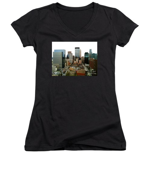 The 35th Floor Women's V-Neck (Athletic Fit)