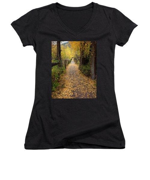 The Aspen Trail Women's V-Neck