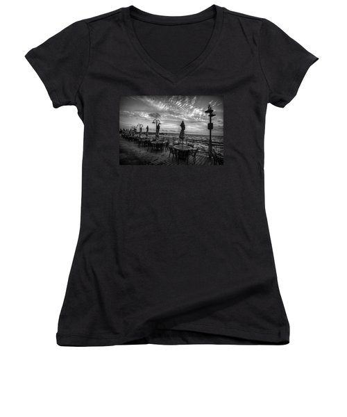 The Boardwalk Women's V-Neck T-Shirt