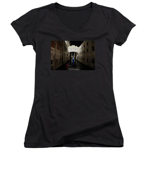 The Bridge Of Sighs Women's V-Neck (Athletic Fit)