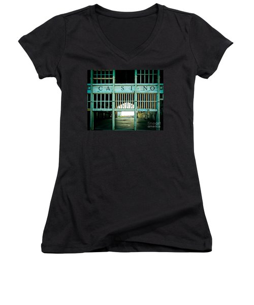 The Casino Women's V-Neck (Athletic Fit)