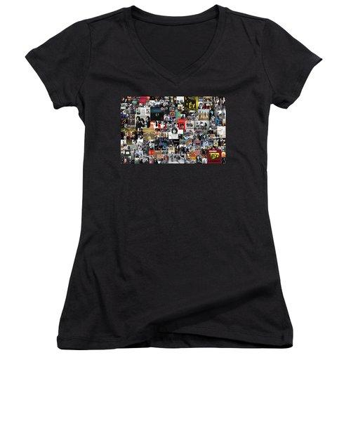 The Doors Collage Women's V-Neck